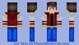 High-School Student Minecraft Skin