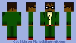 Futurama Hermes skin Minecraft Skin