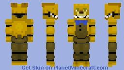 SpringBonnie SpringLock Suit Minecraft Skin