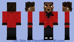 The Weeknd Save Your Tears Minecraft Skin