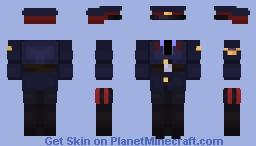 USSR police uniform Minecraft Skin