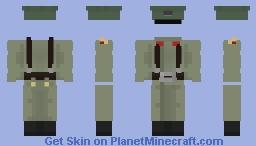 Soldier uniform of the RE Minecraft Skin