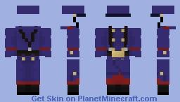 French soldier uniform Minecraft Skin