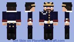 WWI German officer uniform Minecraft Skin