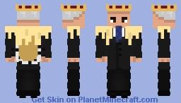 "Tsar of the Russian Federation Putin (Video of Navalny: ""Palace for Putin"") Minecraft Skin"