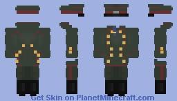 Red Baron uniform Minecraft Skin