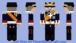 Uniform of Kaiser Wilhelm II Minecraft Skin