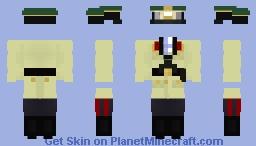 Uniform of General-Fieldmarsal Erwin Rommel Minecraft Skin