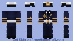 Uniform of Kriegsmarine officer Minecraft Skin