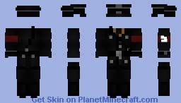 Uniform or SS Officer Minecraft Skin