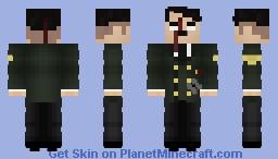 Dead Hitler 1945 Uniform Minecraft Skin