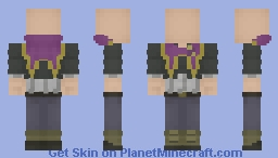 Purple Orca Uniform [Black Clover] Minecraft Skin