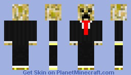 yellow creeper suit Minecraft Skin