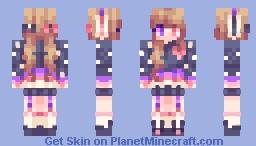 Cuddle Bunny Minecraft Skin