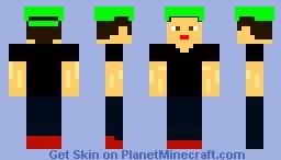 Steves brother Minecraft Skin
