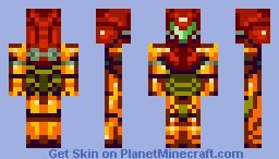 Samus Minecraft Skin
