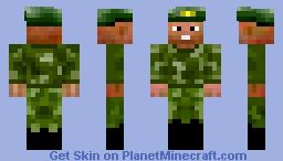 Commander Minecraft Skin