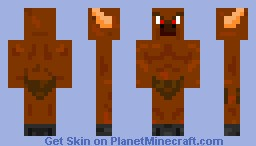 The Great and Strong Minotaur Minecraft Skin