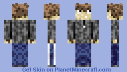 Me, Myself, and I (He did it) [new shading style] Minecraft Skin
