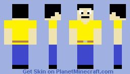 Qú Yumiyachá texture yellow default Minecraft Skin