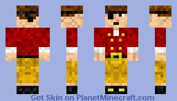 Meetniks Pirate Explorer Minecraft Skin