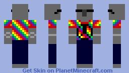 """Iron """"Hippie"""" Golem Minecraft Skin"""