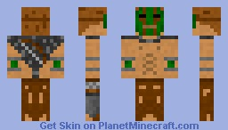 Jungle Survior Minecraft Skin