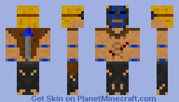Jungle survivor Minecraft Skin