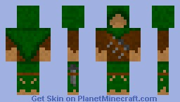 Jungle Assassin Minecraft Skin