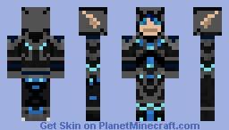 Blood Elf Death Knight Minecraft Skin