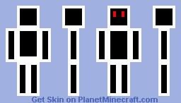 Black RoboCrafter Minecraft Skin