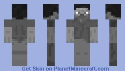 Black & White Minecraft Skin