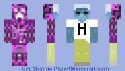 Negative Creeperbrine! Minecraft Skin