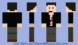 Frank West (requested) Minecraft Skin