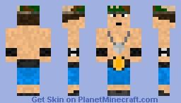 John cena Skin Minecraft Skin