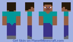 Smoothest Steve in the world Minecraft Skin
