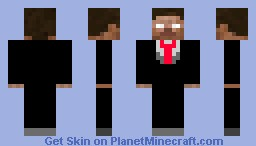 Classy Herobrine Minecraft Skin