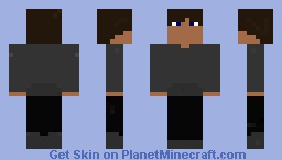 Steve is that you??? with sweatshirt Minecraft Skin