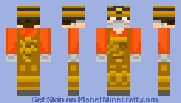 Redstone Miner Minecraft Skin