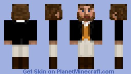 Victorian Riding Gentleman - Young Minecraft Skin