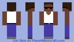 CJ Skin Minecraft Skin