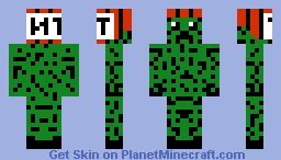 ginger creep Minecraft Skin