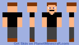 David (The brother of Steve) (Better in 3D) Minecraft