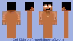 Derp Peole Series : Naked Man Minecraft Skin