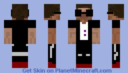 Cool Dude Steve Minecraft Skin