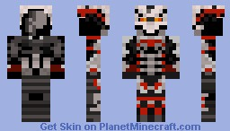 Helghast Carpture Trooper Minecraft Skin