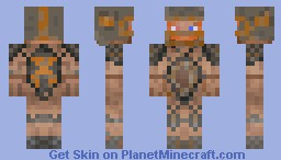 Post apocalyptic Raider Minecraft Skin