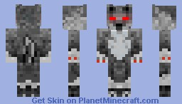 Unknown Wolf Fox NInja Minecraft Skin