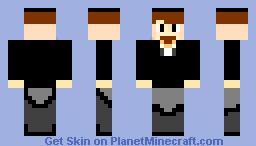 Markus Persson (Notch) Minecraft Skin