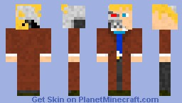 D17 Gliedt Model Assassin Droid Minecraft Skin